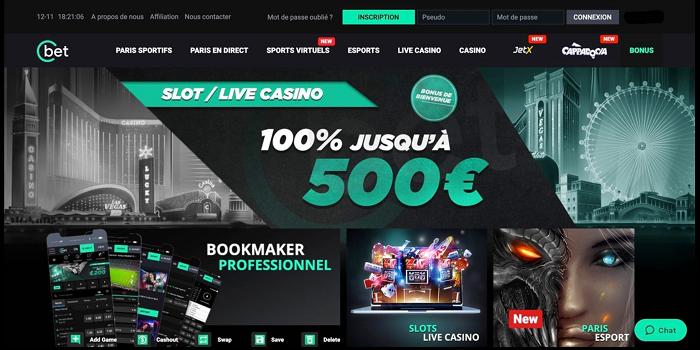 Play Casino at cbetcasino.fr